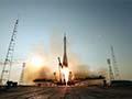 大西宇宙飛行士ISS長期滞在:ソユーズMS-01宇宙船(47S)打上げ射点のリモートカメラ映像