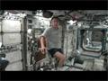 ISSでの古川宇宙飛行士の運動の様子