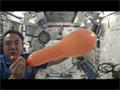 宇宙ふしぎ実験「風船の挙動」