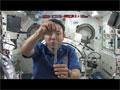 宇宙ふしぎ実験「バネの挙動」