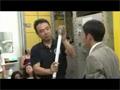 温度勾配炉(GHF)に関わる訓練を行う古川宇宙飛行士
