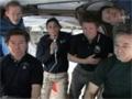 HTV-1ミッション ハッチオープンセレモニー(飛行9日目)