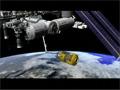 HTV2ミッションのCG映像(ISSへの結合、曝露パレットの設置)