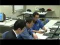 HTVに関わるクルーの作業を確認する野口、古川両宇宙飛行士