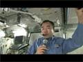 衛星間通信システム(ICS)を経由した交信