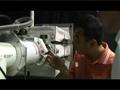 子アームについて訓練を行う古川宇宙飛行士