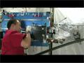 マランゴニ対流実験の供試体の掃除と実験に向けた準備