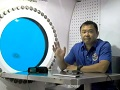 JAXA星出宇宙飛行士の海底研究室案内:フロリダの海底から生中継!