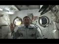 野口宇宙飛行士からの長期滞在に関するメッセ-ジ