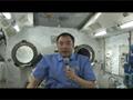 野口宇宙飛行士による実験の紹介