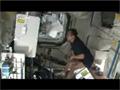 野口宇宙飛行士のISSでの運動の様子