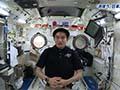 大西宇宙飛行士ISS長期滞在活動報告(Vol.25) 「きぼう」へようこそ!