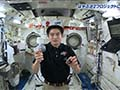 大西宇宙飛行士ISS長期滞在活動報告(Vol.29) はやぶさ2へ向けた応援メッセージ