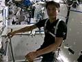 大西宇宙飛行士ISS長期滞在活動報告(Vol.7) 宇宙での運動器具を紹介