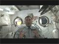 野口宇宙飛行士による子アーム組立ての解説