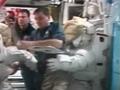 1E(STS-122)飛行4日目ハイライト(第1回船外活動の準備、軌道制御システムポッドの耐熱ブランケットの検査)