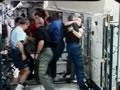 1E(STS-122)飛行11日目ハイライト(「コロンバス」(欧州実験棟)の整備作業、別れの挨拶)