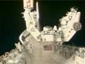 1J/A(STS-123)飛行9日目ハイライト(取外し可能型スペ-スラブパレット1(SLP-D1)の回収など)