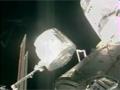 1J(STS-124)飛行7日目ハイライト(船内保管室の移設)