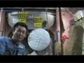 若田宇宙飛行士の宇宙実験「水球に錠剤を入れる」