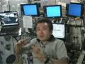若田宇宙飛行士のISSのロボットア-ム操作卓紹介