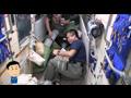 『週刊若田』(Vol.22) 「『ザーリャ』の試験を行う若田宇宙飛行士とチューリン宇宙飛行士」