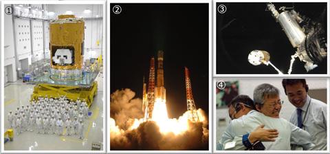 写真:宇宙ステーション補給機(HTV1)技術実証機
