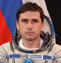 写真:ユーリ・マレンチェンコ宇宙飛行士(ロシア)(出典:FSA)