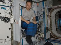 「ハーモニー」(第2結合部)の古川宇宙飛行士個室