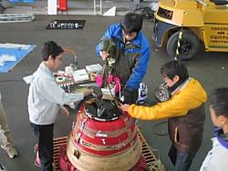 Final preparation (Taiki Aerospace Research Field in Hokkaido)