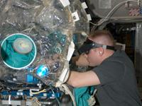 SDTOを行うフィンク宇宙飛行士(提供:NASA)