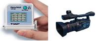 ホルター心電計(左)とハイビジョンカメラ(右)