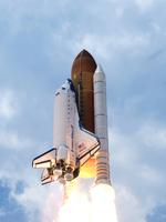 アトランティス号(STS-125)の打上げ(提供:NASA)