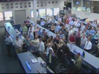 セレモニーが行われたMCCの様子(提供:NASA)