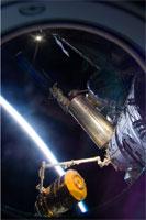 HTV技術実証機の取外しの様子(提供:NASA)