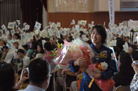 千葉県松戸市でのミッション報告会の様子