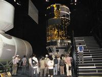 宇宙ステーション補給機(HTV)の試験モデル(出典:JAXA)