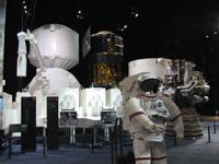 「国際宇宙ステーション・有人宇宙開発」エリアの様子(出典:JAXA)