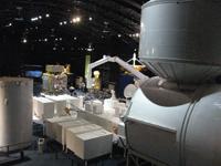 「きぼう」日本実験棟の実物大モデル(出典:JAXA)
