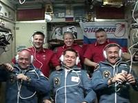 6名体制となった第25次長期滞在クルー(出典:JAXA/NASA)