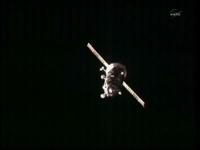 ISSに接近する40P(出典:JAXA/NASA)