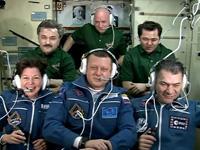 6名体制となった第26次長期滞在クルー(出典:JAXA/NASA)