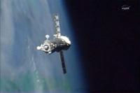ISSに接近する26S(出典:JAXA/NASA)