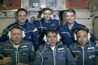 6名体制となったISS第28次長期滞在クルー(出典:JAXA/NASA)