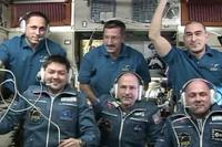 6名体制となった第30次長期滞在クルー(出典:JAXA/NASA)