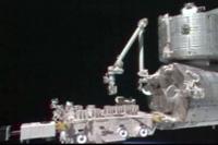 「きぼう」ロボットアーム遠隔操作デモンストレーションの様子(12月6日)(出典:JAXA)
