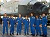 STS-114ミッション(スペースシャトル・ディスカバリー号)の野口宇宙飛行士らクルー