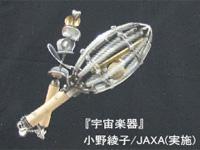 宇宙楽器(出典:小野綾子/JAXA(実施))