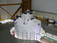 フェアリング取り付け前のATV3(出典:ESA/A.Novelli)