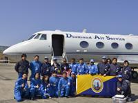 「第9回航空機による学生無重力実験コンテスト」に参加する学生チームの皆さん